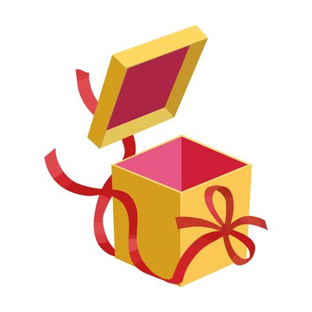 Gift box vector icon.Cartoon vector icon isolated on white background gift box.