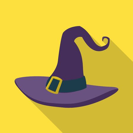 Vector design of hat and headdress icon. Web element of hat and cap stock vector illustration.