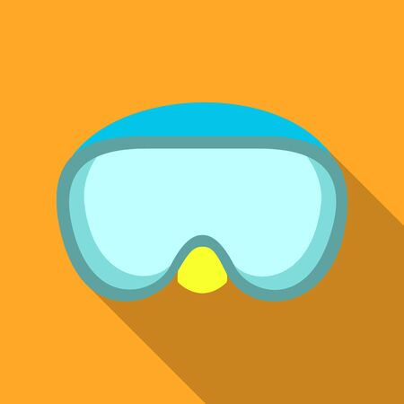 Isolated object of equipment and swimming sign. Set of equipment and activity vector icon for stock.