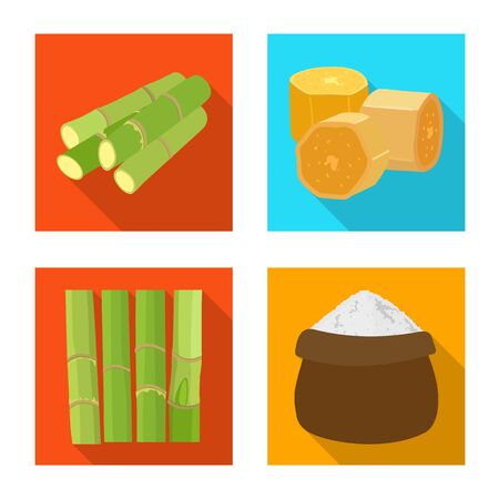 Vector illustration of natural and production icon. Collection of natural and agricultural stock vector illustration.