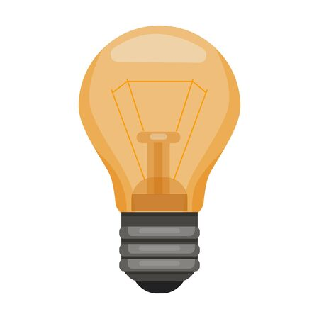 Iight bulb vector icon.Cartoon vector icon isolated on white background light bulb.