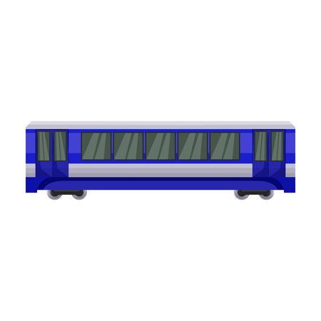 Train of metro vector icon.Cartoon vector icon isolated on white background train of metro . Фото со стока - 134927388