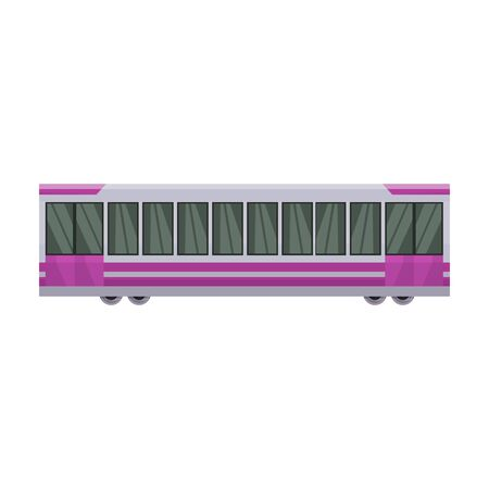 Subway train vector icon.Cartoon vector icon isolated on white background subway train. Фото со стока - 134927395