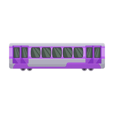 Train of metro vector icon.Cartoon vector icon isolated on white background train of metro . Фото со стока - 134927397
