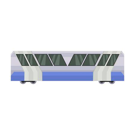 Subway train vector icon.Cartoon vector icon isolated on white background subway train. Фото со стока - 134927402