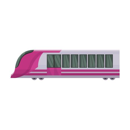Subway train vector icon.Cartoon vector icon isolated on white background subway train. Фото со стока - 134925547