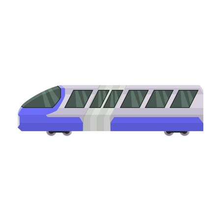 Train of metro vector icon.Cartoon vector icon isolated on white background train of metro . Фото со стока - 134925553