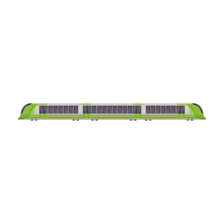 Subway train vector icon.Cartoon vector icon isolated on white background subway train.