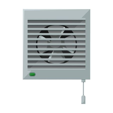 Ventilation vector icon.Cartoon vector icon isolated on white background ventilation .