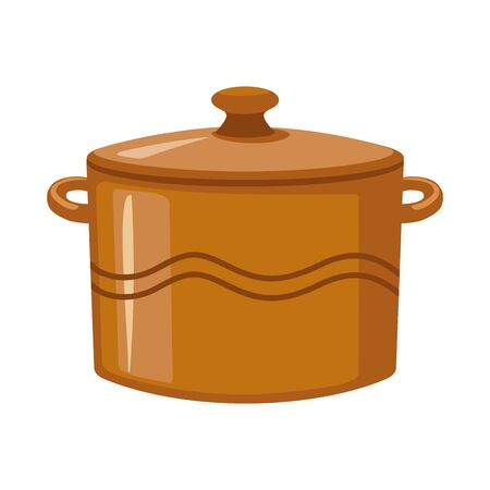 Vector illustration of crockery and clean icon. Web element of crockery and ceramic stock symbol for web.