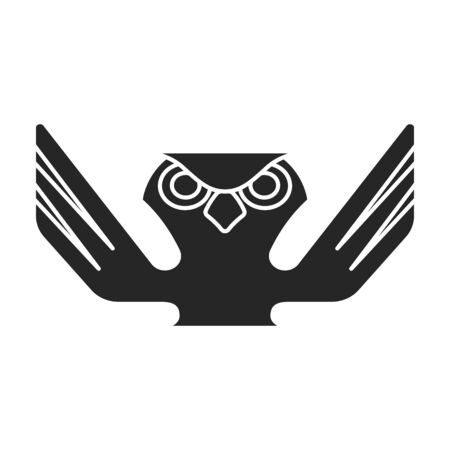 Totem vector icon.Black vector icon isolated on white background totem.