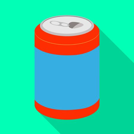 Vector design of bottle and soda icon. Set of bottle and fizzy vector icon for stock.