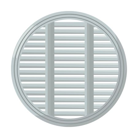Ventilation grate vector icon.Cartoon vector icon isolated on white background ventilation grate.