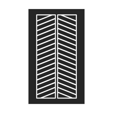 Ventilation grate vector icon.Black,simple vector icon isolated on white background ventilation grate. 向量圖像