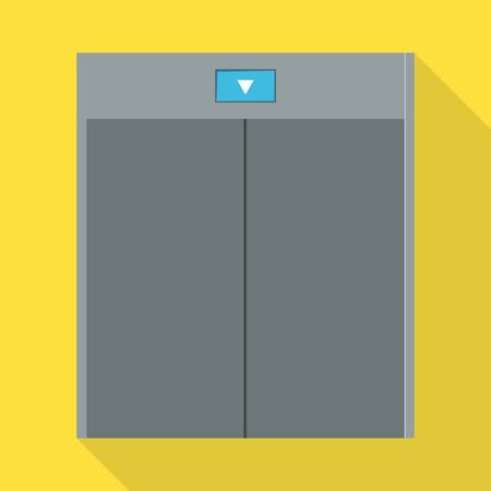 Elevator vector icon.Flat vector icon isolated on white background elevator.