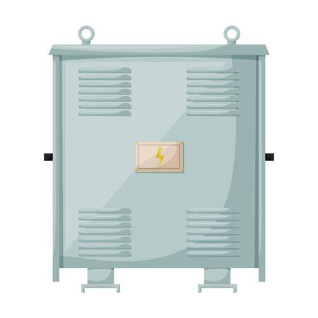 Transformer vector icon.Cartoon vector icon isolated on white background transformer . Vecteurs