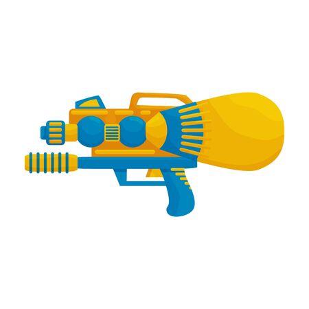 Water gun vector icon.Cartoon vector icon isolated on white background water gun. Vector Illustratie