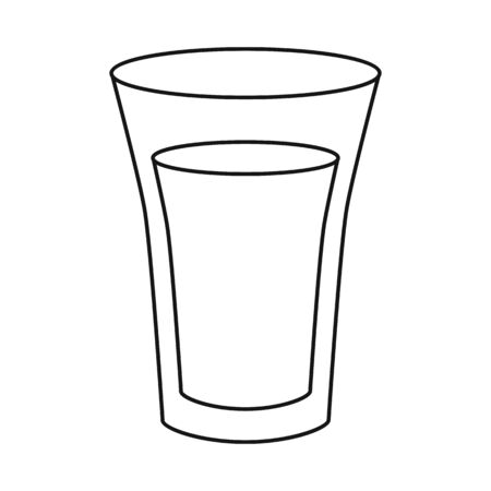 Isolated object of juice and sugar icon. Collection of juice and cane vector icon for stock.