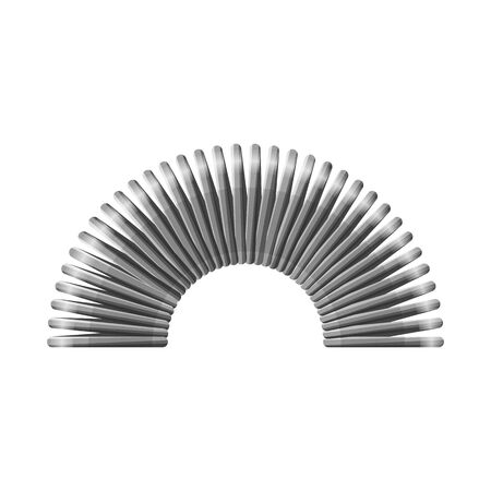 Vector illustration of coil and plastic icon. Web element of coil and spiral stock vector illustration.