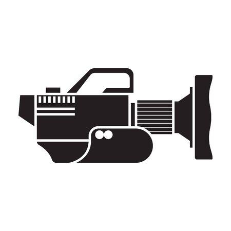 Video camera vector icon. 写真素材 - 143398297