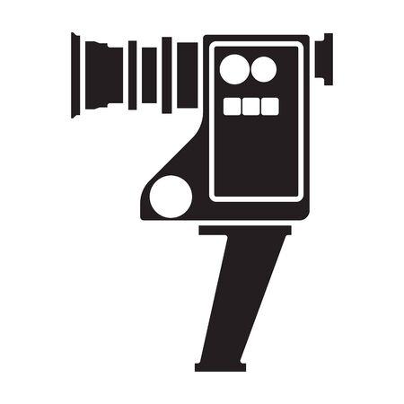 Video camera vector icon. 写真素材 - 143398316