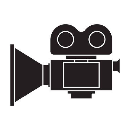 Video camera vector icon.
