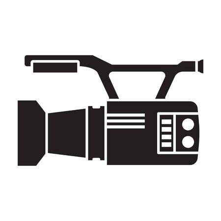 Video camera vector icon. 写真素材 - 143398314