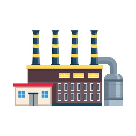 Vector design of factory and nuclear  . Collection of factory and energy stock vector illustration.