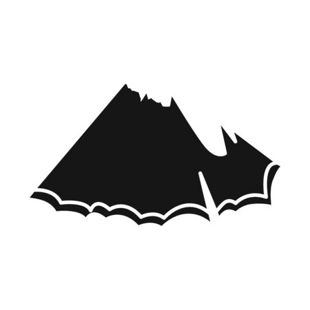 Isolated object of shavings and pencil sign. Web element of shavings and tree vector icon for stock.  イラスト・ベクター素材