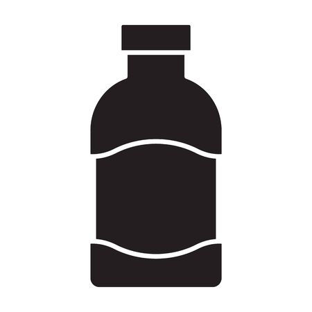 Ketchup vector icon.Black vector icon isolated on white background ketchup.