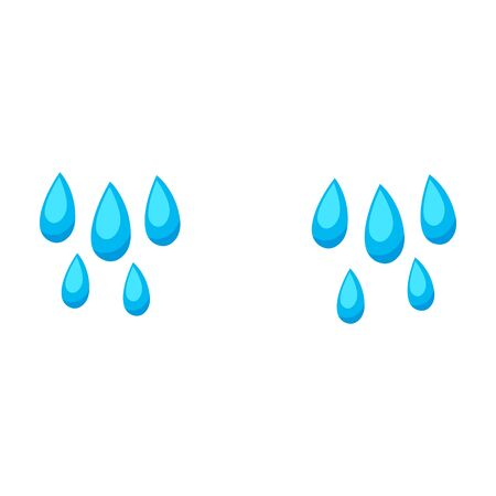 Tears vector icon.Cartoon vector icon isolated on white background tears. Illustration