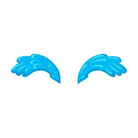 Tears vector icon.Cartoon vector icon isolated on white background tears. Vector Illustration