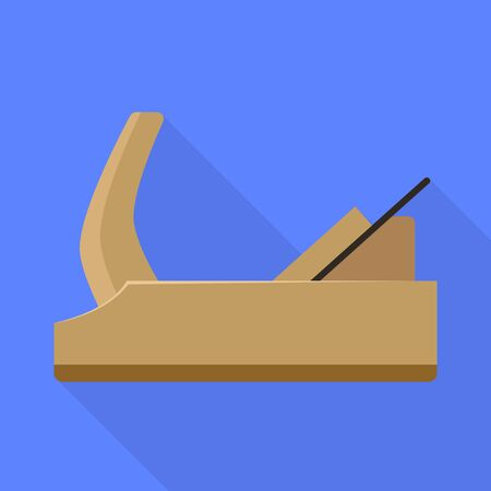 Isolated object of jointer and tool symbol. Graphic of jointer and instrumen stock symbol for web. Illustration