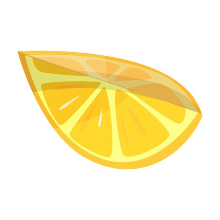 Lemon vector icon.Cartoon vector icon isolated on white background lemon. Çizim