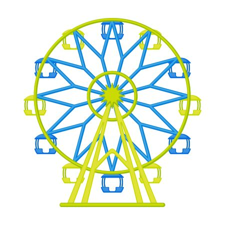 Wheel of review vector icon.Cartoon vector icon isolated on white background wheel of review. Illustration