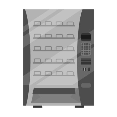 Food vending vector icon.Cartoon vector icon isolated on white background food vending.