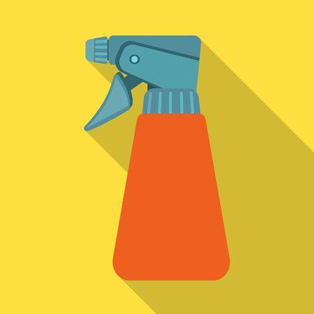 Vector illustration of spray and bottle symbol. Web element of spray and water stock vector illustration. 일러스트