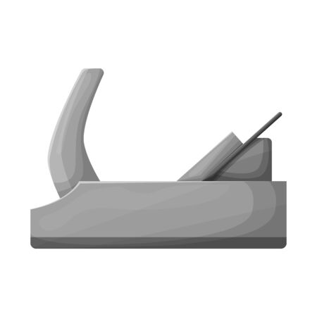 Vector illustration of jointer and tool icon. Web element of jointer and instrumen stock vector illustration.
