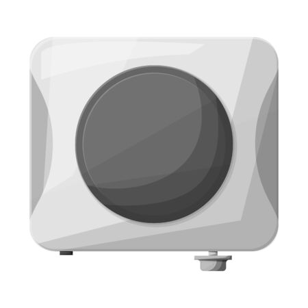 Isolated object of stove and furnace icon. Graphic of stove and appliance stock symbol for web.