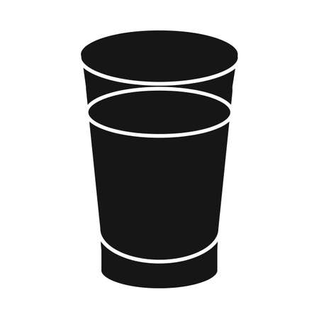 Vector design of juice and sugar icon. Web element of juice and cane stock symbol for web.