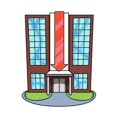 Vector design of shopping and center sign. Collection of shopping and store stock vector illustration.