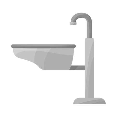 Vector design of sink and basin icon. Web element of sink and wash vector icon for stock. 스톡 콘텐츠 - 158237124