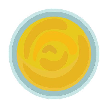 Sauce vector cartoon icon. Vector illustration seasoning on white background. Isolated cartoon illustration icon of sauce.