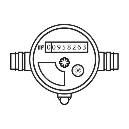 Missile ballistic vector outline icon. Vector illustration rocket military on white background. Isolated outline illustration icon of missile ballistic.