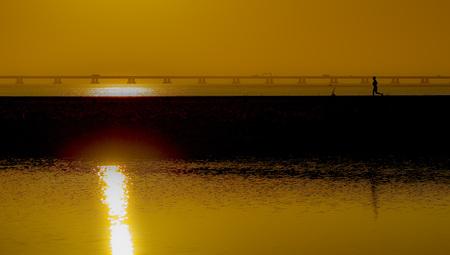 danish: The sunset