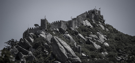 sintra: Sintra in Portugal Stock Photo