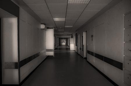 The abandoned hospital. Shot in Denmark