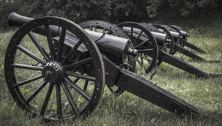 The old cannons Reklamní fotografie