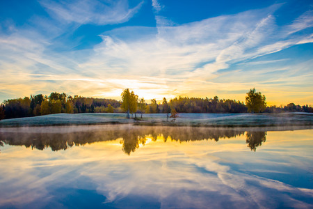horizont: Sunrise with horizont
