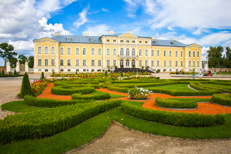 Park of Rundale palace